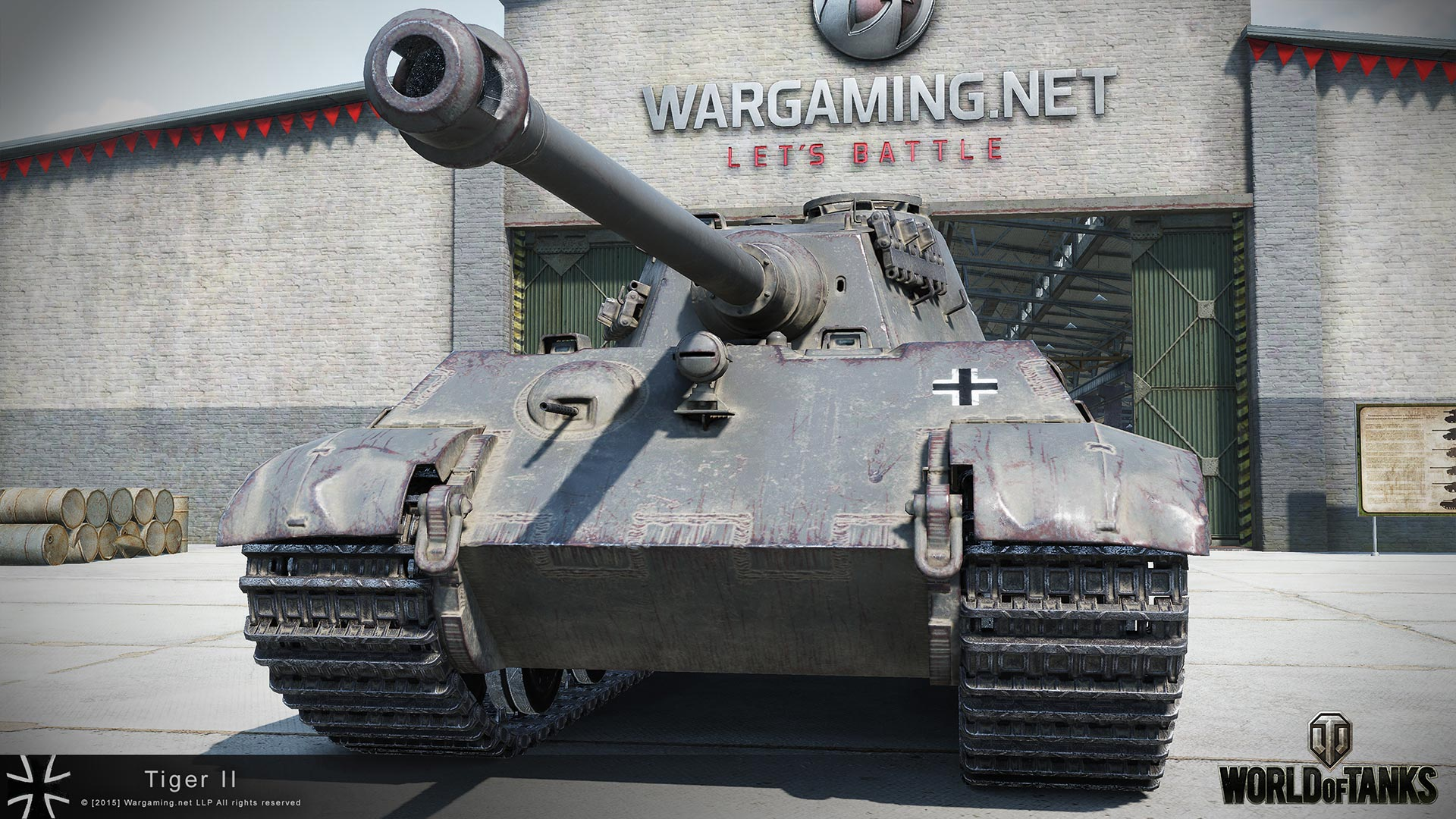 PzKpfw VIB Tiger II — HD