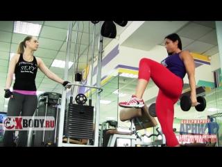 Упражнения для ягодиц и бедер или жиросжигающий суперсет от Саши Браун