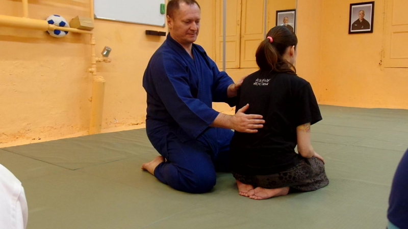 открытое занятие по синсин тойцу до (японская йога) 17.10.15 - ки-дыхание