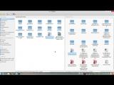 РОСА Линукс_Две панели в рабочей области Dolphin_KDE