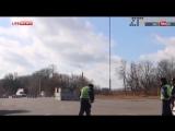 Появилось первое видео с места крушения украинского Су-25