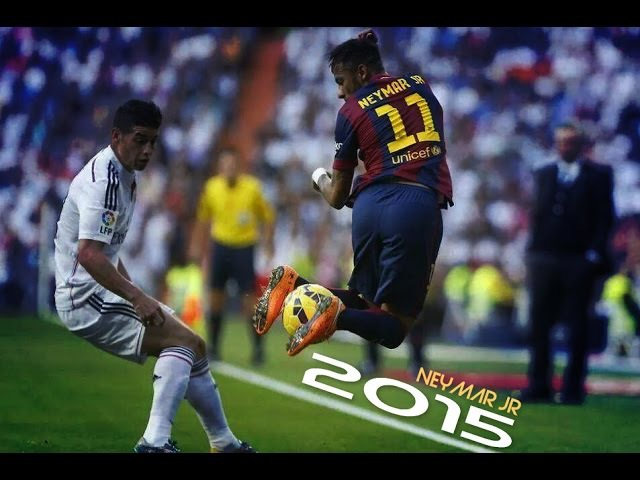 Neymar Jr ●King Of Dribbling Skills● 2015 |HD|