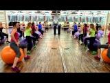 Тренировка по Аэробике с Фитболами FULL (13.10.2013)