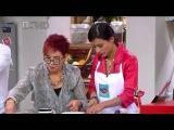 Paola Rey y Juan Carlos Vargas mostraron sus dotes culinarios