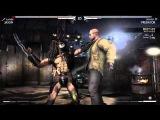 Mortal Kombat X Predator Gameplay,Brutality,Victory Ending