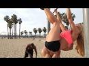 Заезд на лонгборде по калифорнийским пляжам