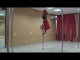 Angelina. Poledance