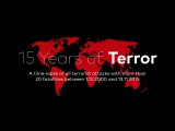 15 YEARS OF TERROR A time-lapse map