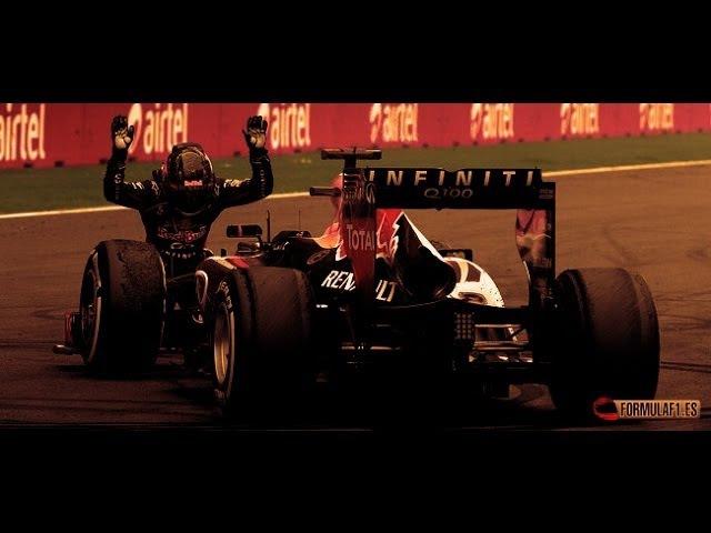 Sebastian Vettel - Champion - (2010-2011-2012-2013)