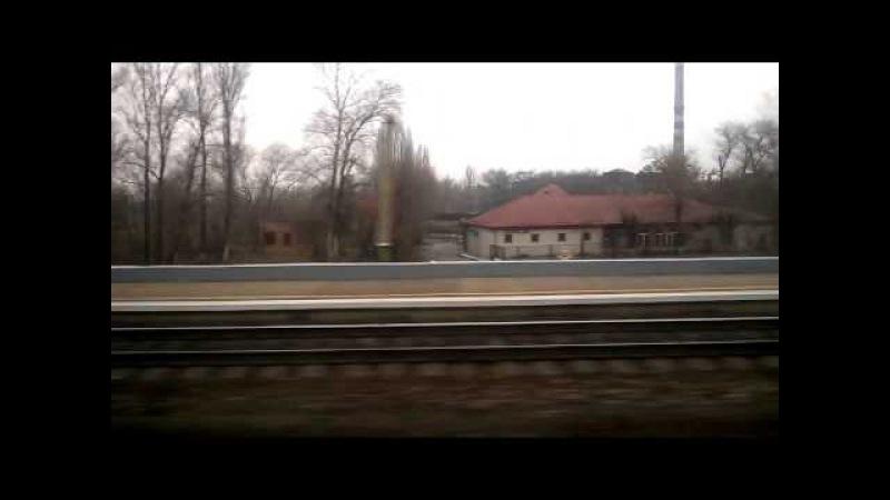 ЕКр1-002 Поїзд №732 Київ-Запоріжжя