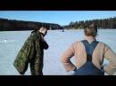 Зимняя рыбалка в Карелии, весна 2015г.
