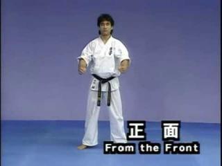 Каратэ Киокушинкай: Ката - Сайфа | Kyokushin Karate: Kata - Saifa