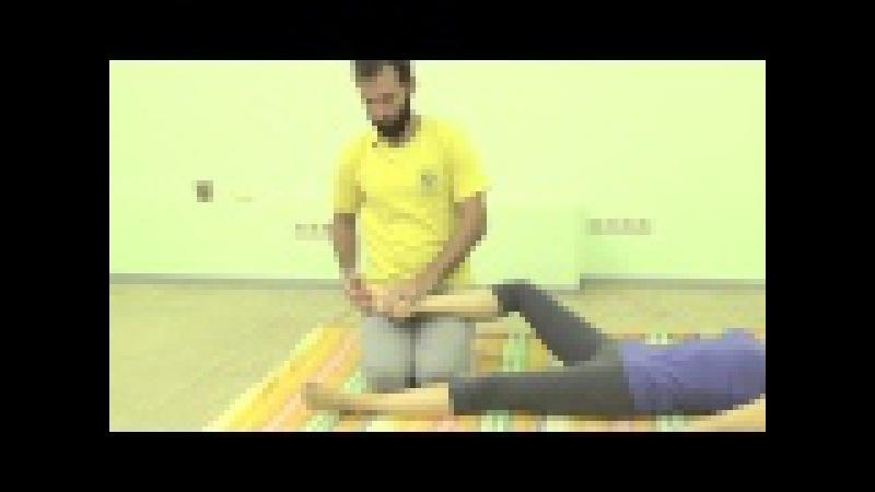 Обучение массажу. Видео урок 1. Стопы. Курсы тайского массажа.