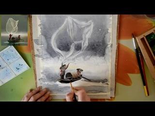 как сфоткать рисунок