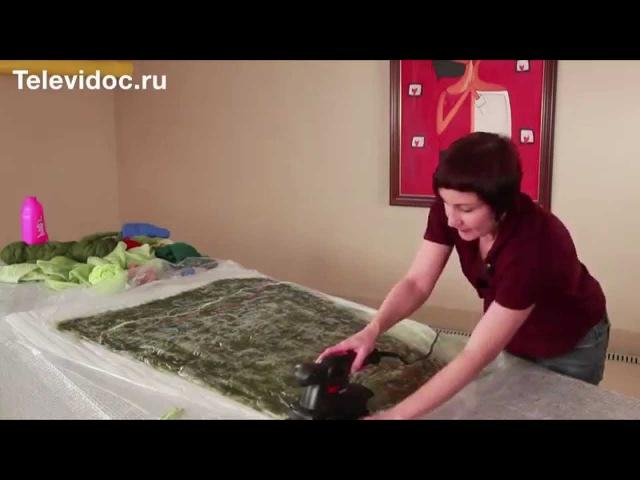 Валяная юбка Мастер-класс ч 1 Алена Арт