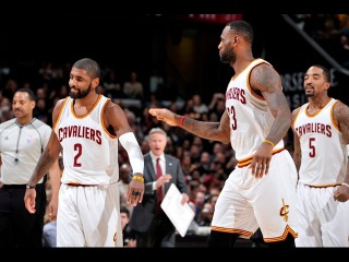 Kyrie Irving scores his first points of the season! #NBANews #NBA