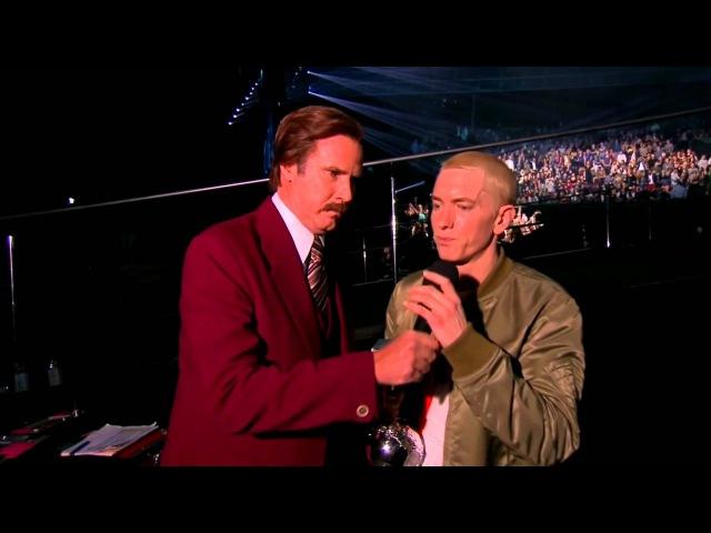 Eminem vs Afrojack WHO?! (MTV EMA 2013)