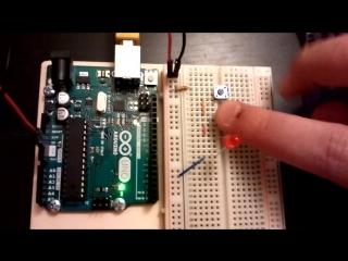arduino leds: Arduino progress bar + potentiometr + led, Arduino