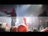 Carach Angren - Two flies flew into a black sugar cobweb (live at Saint-Petersburg, Russia, 15.11.15, video by Nikolay Duvalov)