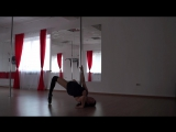 Exotic Pole Dance improvisation l Malenkikh Diana