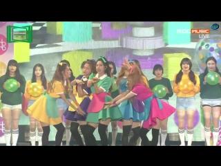 151107 2015 MelOn Music Award| Intro+ Red Velvet - Dumb Dumb