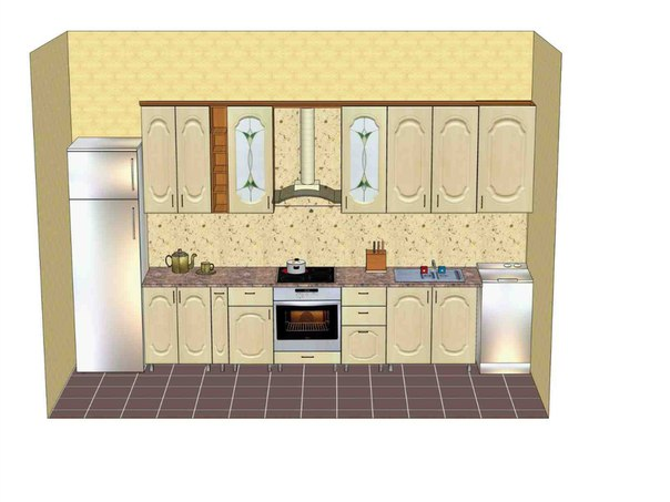 Заказать мебель для кухни   к-рауте