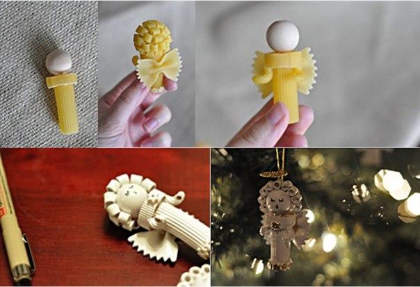 Оригинальные украшения своими руками новый год