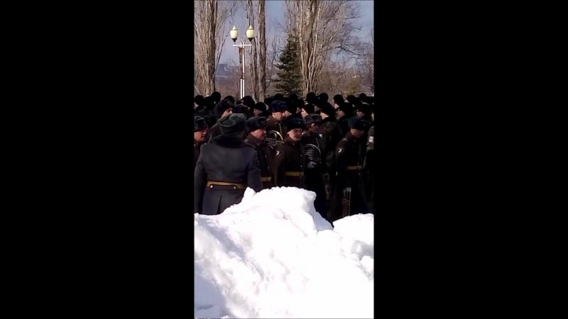 Военный оркестр СВИ ВВ МВД РФ (Репетиция)
