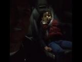 Криштиану поет песню с сыном в машине