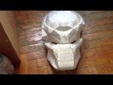 #1 как сделать  маску хищника
