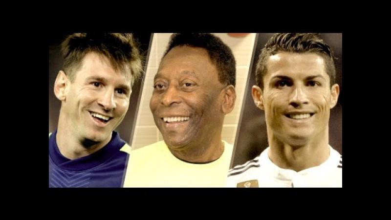 Top 10 голов 10 лучших футболистов в истории футбола
