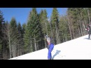 Карпаты (Буковель 2014) cпуск на лыжах и сноуборде / Karpaty (Bukovel 2014) Skiing and Snowboading.