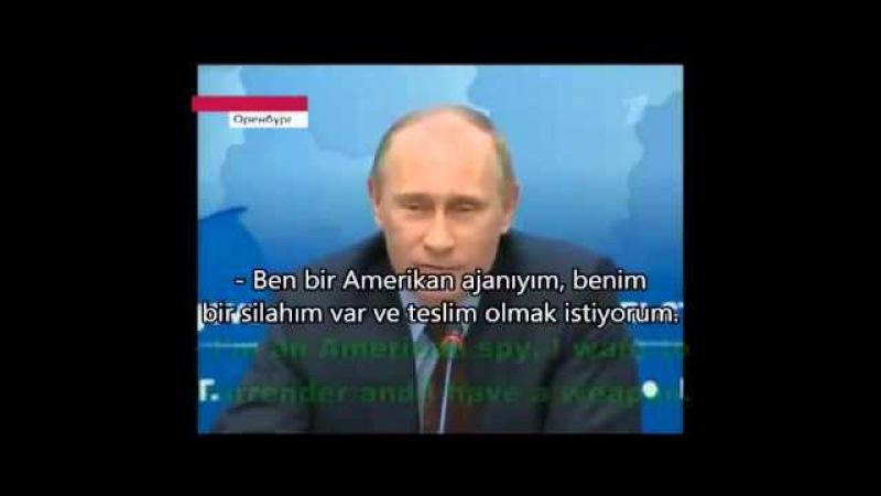 KGB kökenli Putinden Güldüren Ajan Fıkrası