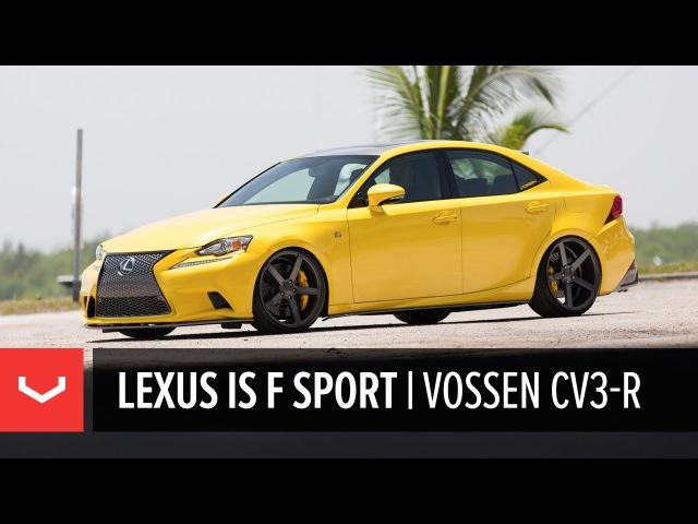 Vossen Spotlight | LFA Yellow Lexus IS 350 | Vossen CV3-R (4K)