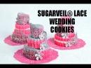 SugarVeil® Lace WEDDING COOKIES, HANIELAS