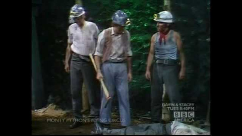 Monty Python's Flying Circus - Coal Miners of Wales