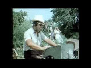 На съёмках фильма Сергея Герасимова Тихий Дон. 1957