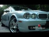 2008 Jaguar XJ Vanden Plas for sale rear DVDs 4 zone shades GPS $29900 www.valeurosport.com