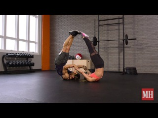 Swolemate Workout: The Shoulders And Abs Roll