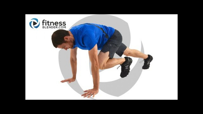 15 Minute HIIT Metabolism Booster - Total Body and Abs HIIT Workout