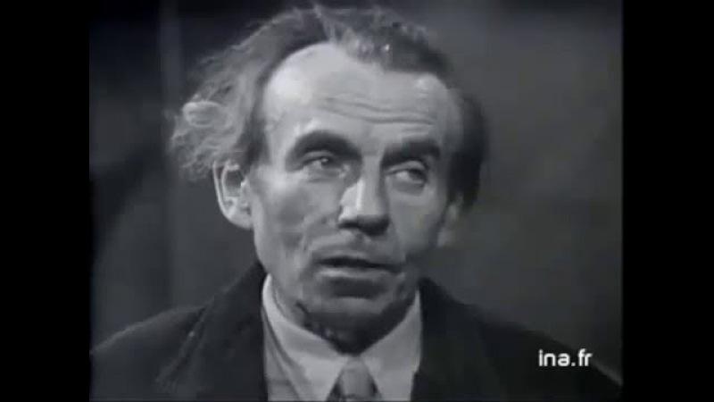 Louis Ferdinand CÉLINE Entretien avec Pierre DUMAYET 1957