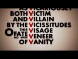 V (V for Vendetta Kinetic Typography)