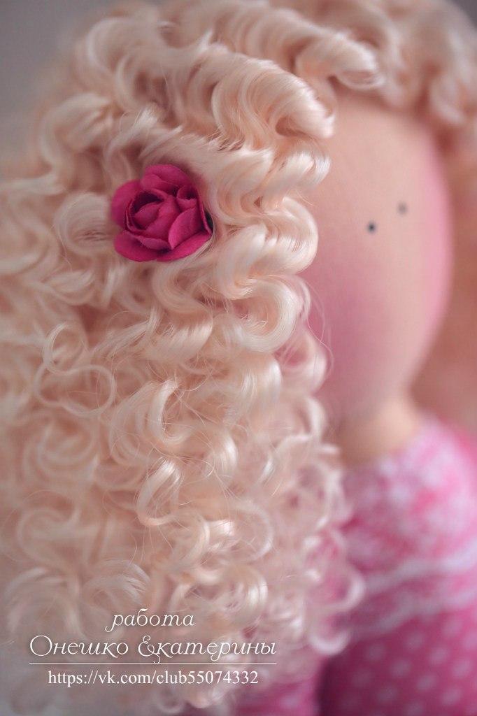 куклы прическа