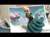 Торт Холодное сердце, часть 2 (Frozen, part2)