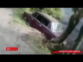 Crazy funny videos road accidents russian - coub - смешная подборка приколов