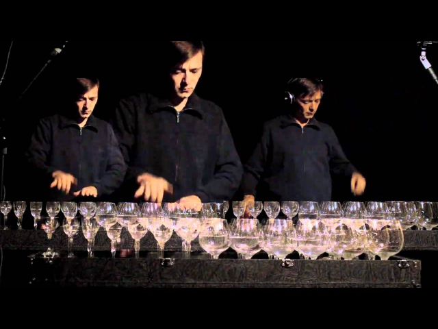 Für Elise on glass harp