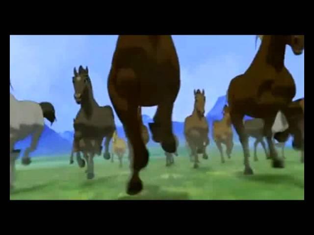 Далеко ускакала в поле молодая лошадь(full)