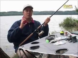 Фидер и пикер на стоячем водоеме с берега. Feeder and picker on the river