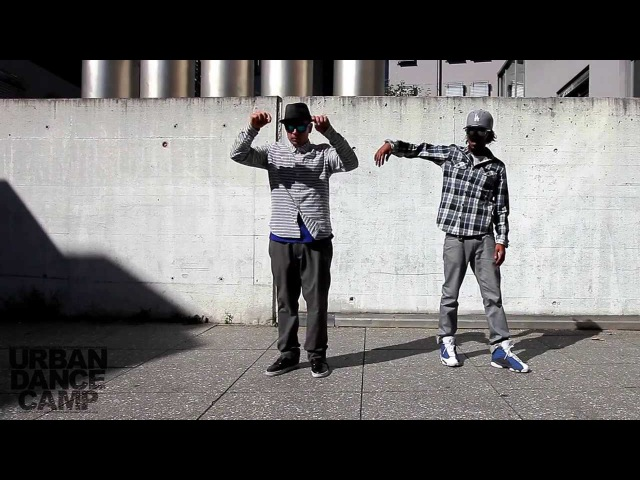 Time Control - Popping John Nonstop Marquese Scott 310XT Films URBAN DANCE CAMP