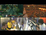 iG vs Na`Vi - Game 2 Semifinals, The Play Multicam Edition, Russian Commentary by v1lat